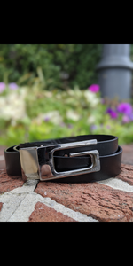 "Gucci Leather Belt (38"")"