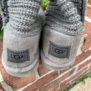 Ugg Knit Boots As Is Size 6