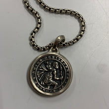 Load image into Gallery viewer, David Yurman Saint Christopher Necklace