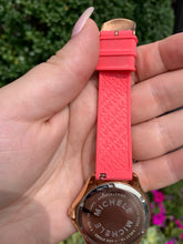 Load image into Gallery viewer, Michele Cape Sky Silicone watch