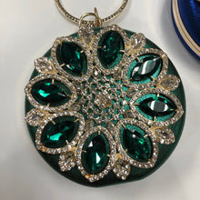 Load image into Gallery viewer, Green crystal Handbag