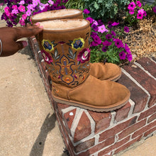 Load image into Gallery viewer, Ugg Floral Chestnut Boots Size 8