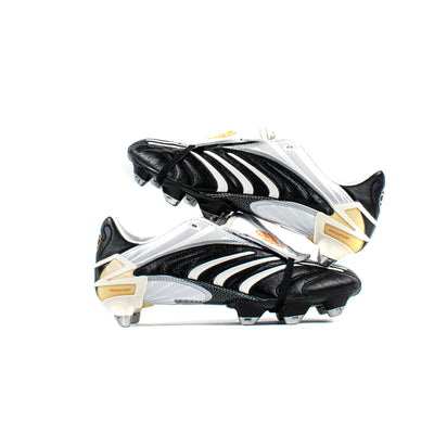 Adidas Predator Absolute Black White CL SG - Classic Soccer Cleats