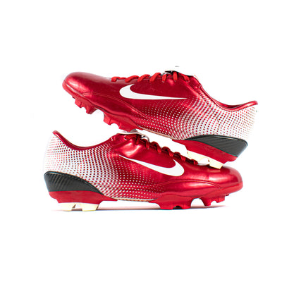Nike Mercurial Steam Red FG - Classic Soccer Cleats
