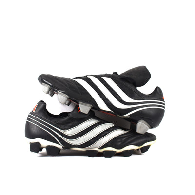 Adidas Predator Salvador Black FG/SG Sample - Classic Soccer Cleats