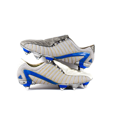Adidas F50 + Gunmetal TRX SG Sample - Classic Soccer Cleats