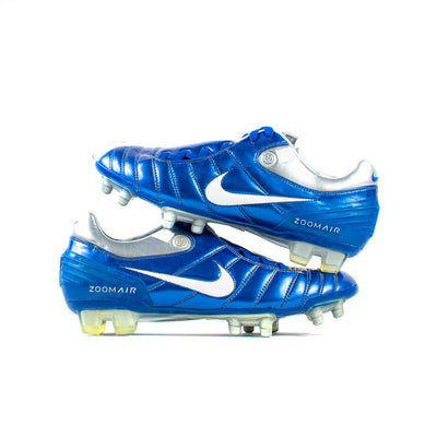 Nike Air Zoom Total 90 Supremacy Blue FG - Classic Soccer Cleats