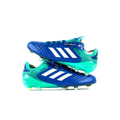 Adidas Copa 18.1 Blue FG - Classic Soccer Cleats