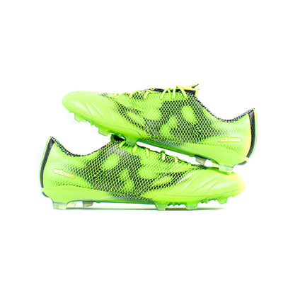 Adidas F50 Adizero 2015 Green Leather FG - Classic Soccer Cleats