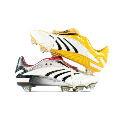 Adidas Predator Absolion CL / White Sample SG - Classic Soccer Cleats