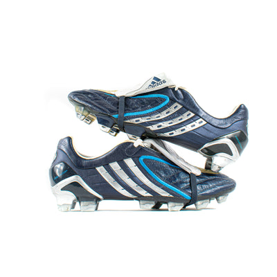 Adidas Predator Powerswerve Navy Sample SG/FG - Classic Soccer Cleats