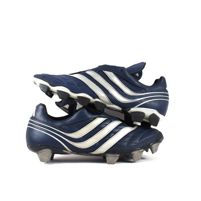 Adidas Predator Salvador Navy FG/SG Sample - Classic Soccer Cleats