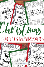 Load image into Gallery viewer, Christmas Coloring Sheets Pack