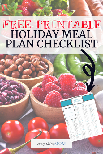 Holiday Meal Checklist (FREE)