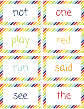 Load image into Gallery viewer, Kindergarten Sight Words