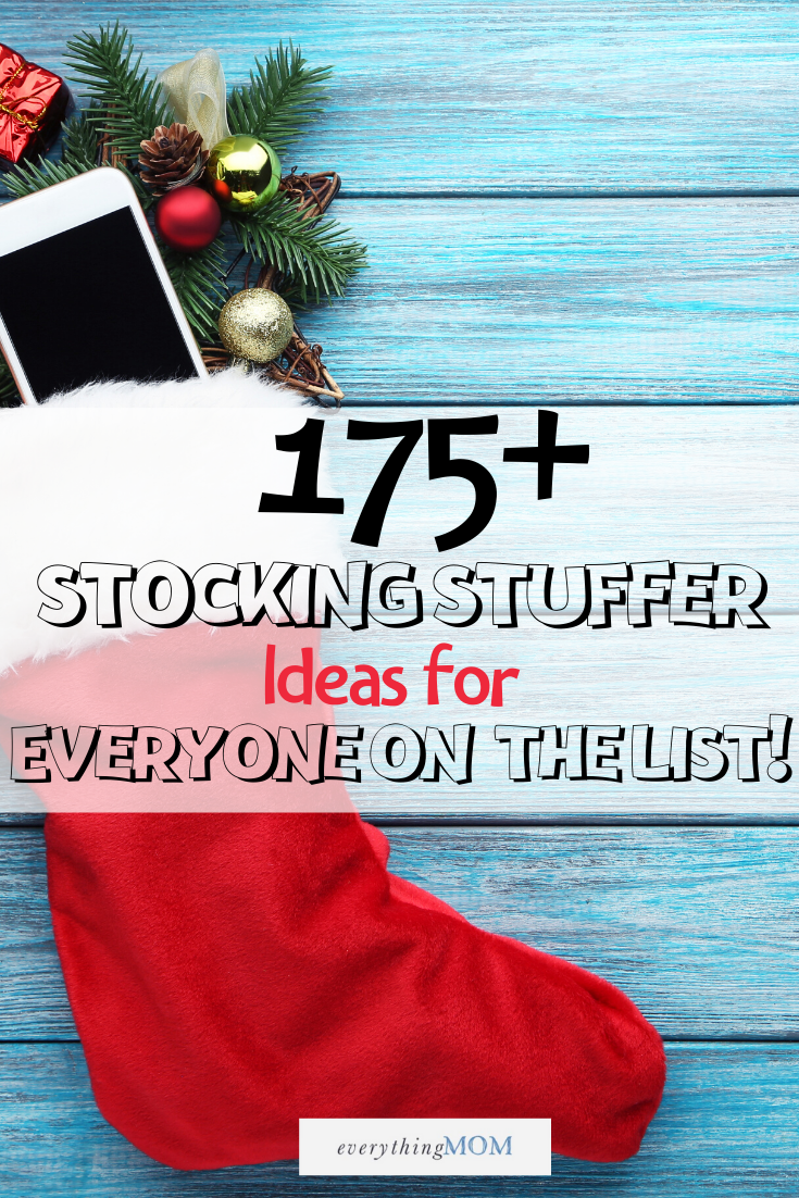 175+ Stocking Stuffer Ideas Printable (FREE)