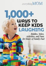 Load image into Gallery viewer, 1,000+ Ways to Keep Kids Laughing: Riddles, Jokes, Activities, and Puns for Hours of Family Fun!