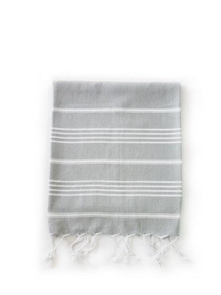 Inspired 2 Give Grey Hand Turkish Towel Original style