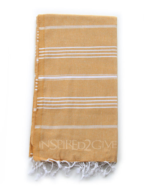 Mustard Turkish Towel