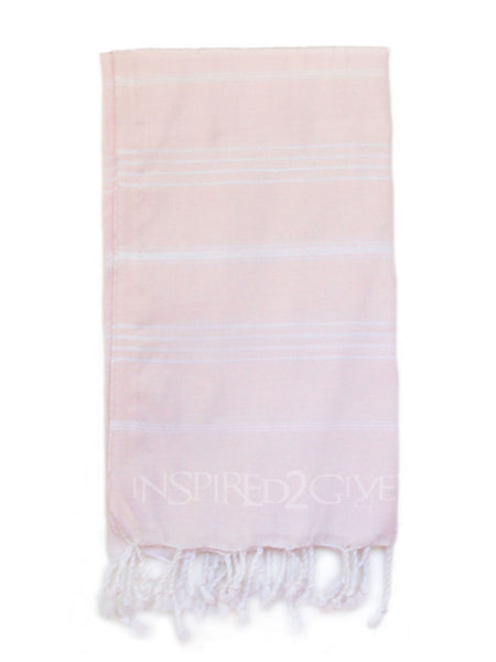 i2Give Rose Turkish Towel