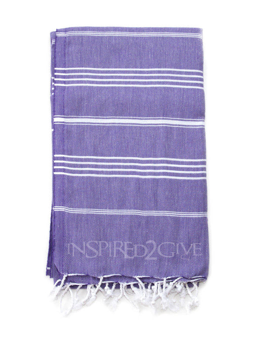 Indigo Turkish Towel Inspired2Give