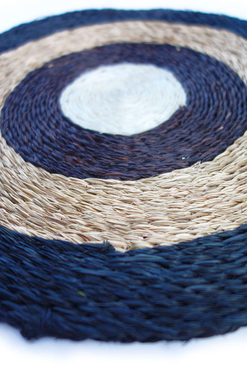 Natural grass Placemat by Inspired 2 Give, close up