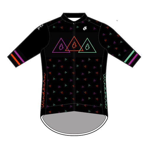 Windburn 80's Apex+ jersey (Black)