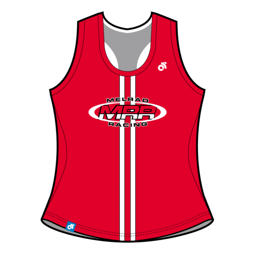 MRR Red Bella Summer Racerback Singlet
