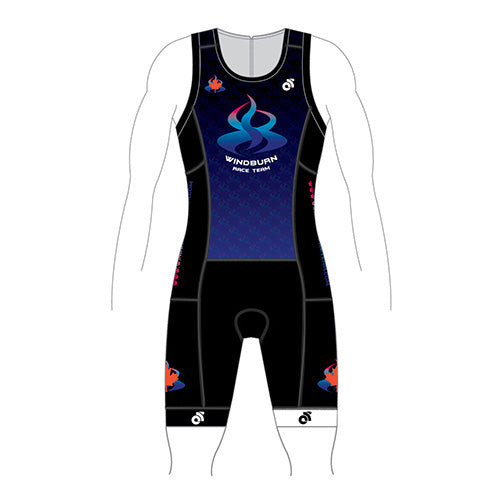 Windburn Performance Tri Suit Pink