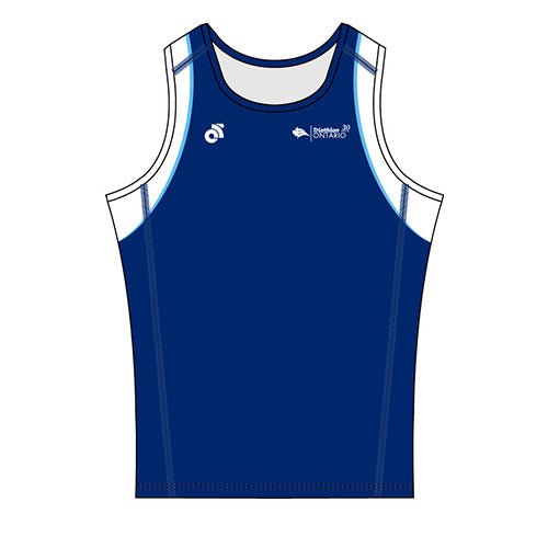 Triathlon Ontario 30 Years Performance Lite Run Singlet