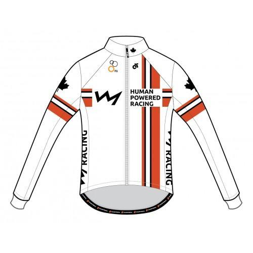 HPR Performance Winter Cycling Jacket White