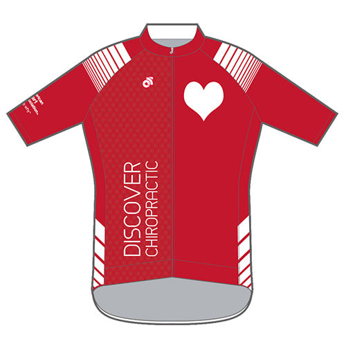 Discover Chiropractic Jersey (Red)