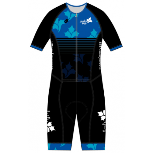 Saskia Says Performance Aero Tri Suit Blue