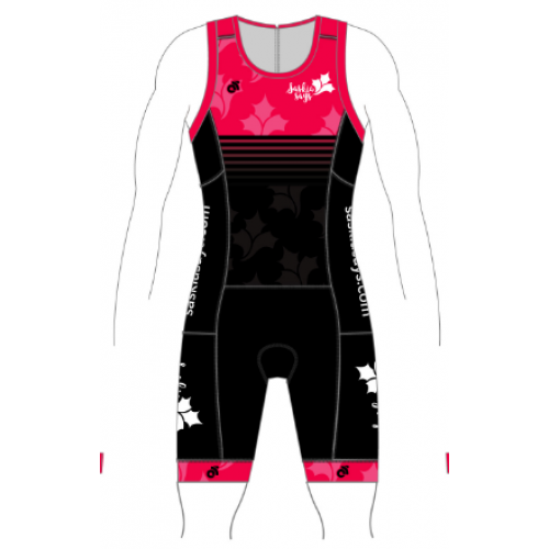 Saskia Says Performance Tri Suit Pink