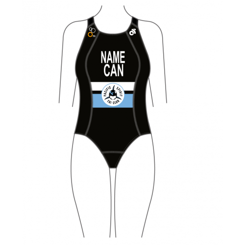 Pacific Spirit Tri Performance Swimsuit (Name + Country)