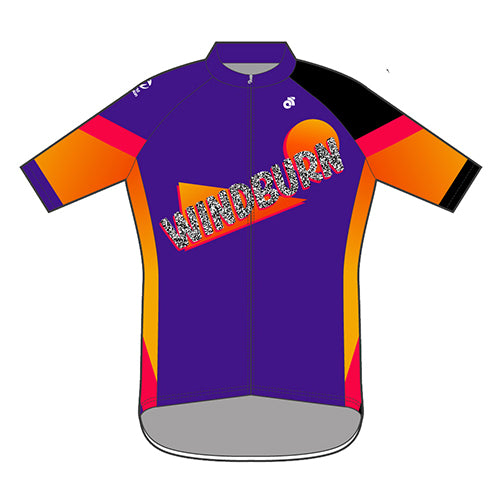 Windburn 90's Performance+ jersey (Purple)