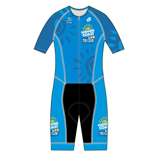 Sunshine Coast Performance Aero Tri Suit (Blue)