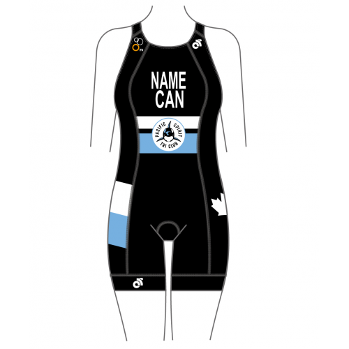Pacific Spirit Tri Apex Women's Specific (Name + Country)