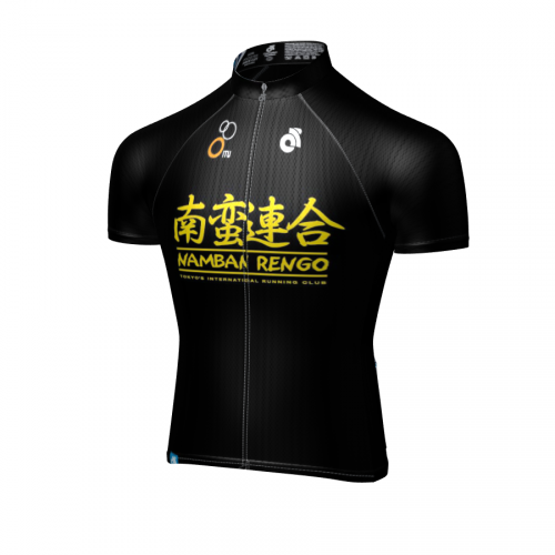 Namban Cycle Jersey Black