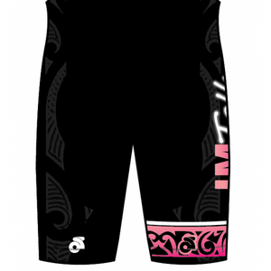 IMTalk Pink Tech Cycling Shorts