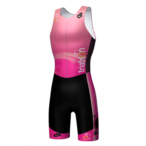 Be Seen Kid's Tri Suit Pink