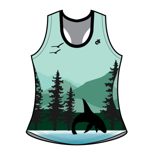 LEFTCOAST Bella Summer Racerback Run Singlet