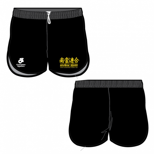 Namban Race Shorts - Black