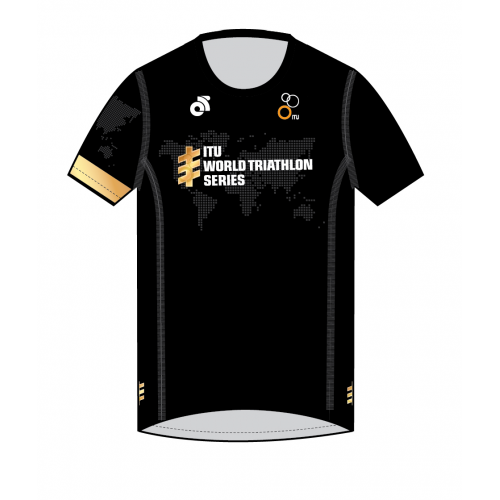 Gold Performance Run Top