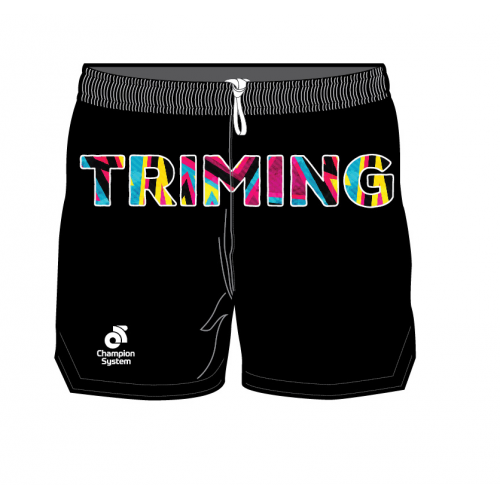 Triming Run Shorts Black