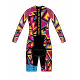 Triming Rear Zip Speedsuit