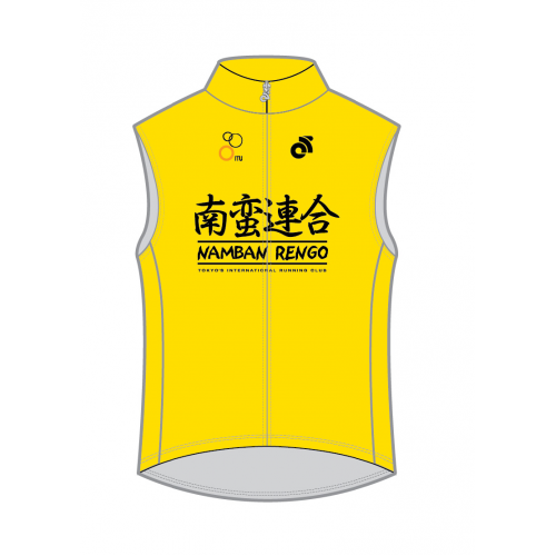 Namban Sleeveless Trail Running Top Yellow