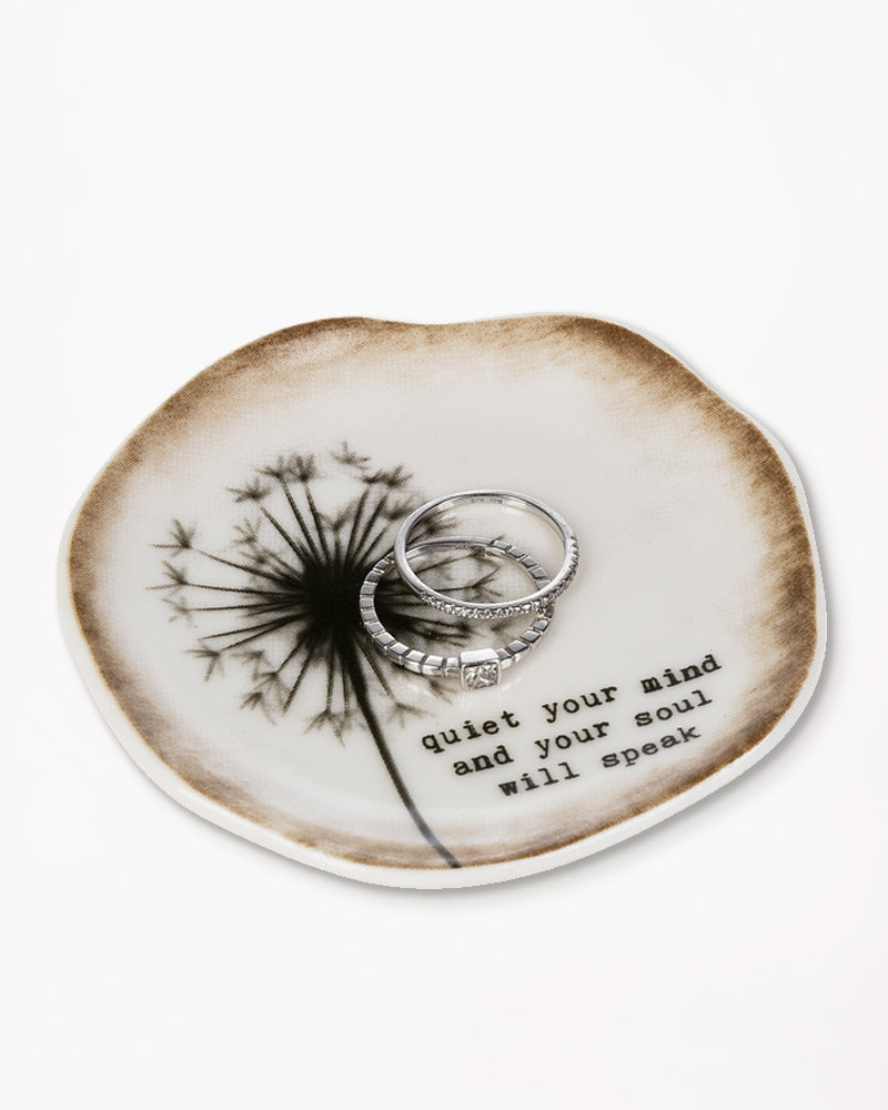 Live A Happy Life Trinket Dish