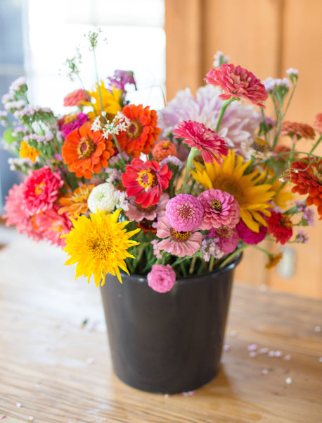Bucket of Blooms (April-October) Available Now!