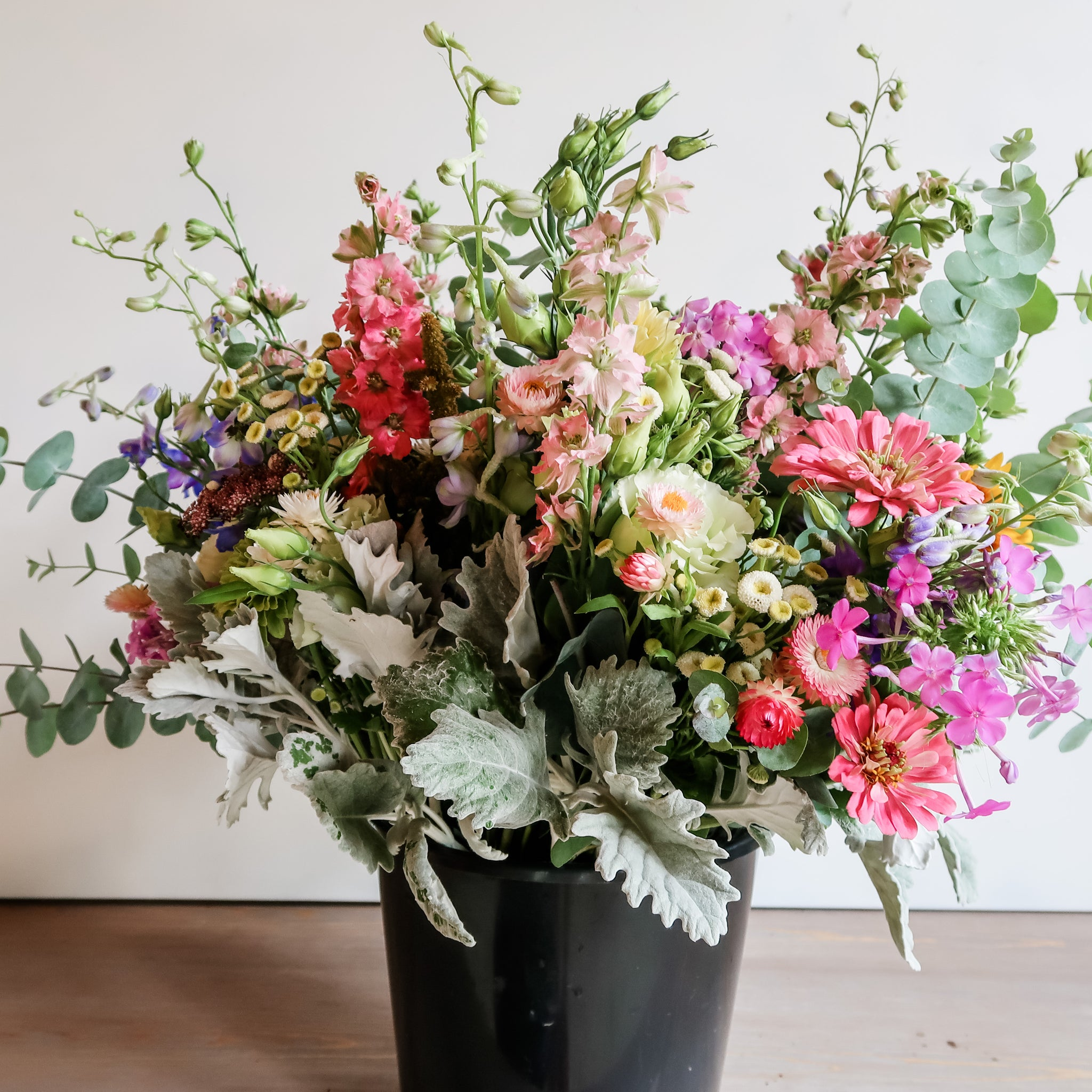 Bucket of Blooms (5 Bouquets)